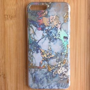 Accessories - NEW Iphone 7/8/7+/8+ Shiny Marble Stone Case
